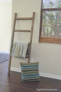 DIY-pottery-barn-blanket-ladder-2